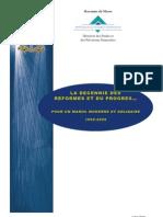 La décennie des réformes 1999-2009