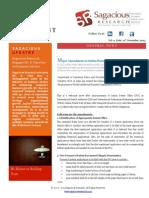 Sagacious Research Newsletter 11 Nov 2013