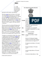 The Lokpal Bill, 2011 - Wikipedia, The Free Encyclopedia