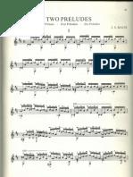 Bach Cello Suite Prelude (Bream)