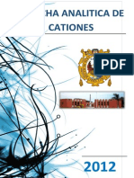 Marcha Analitica de Cationes