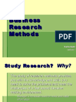 Lecture 1 - Introduction to Business Research