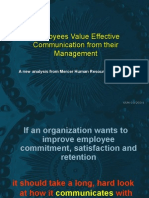 Employees Value Effective Communication From Their Management