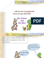 Good Old Lessons in Team-Work From an Age-old Fable