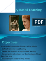 Inquiry Based Learning Ppt