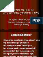 Pengenalan Hukum Kedokteran (Medical Law)-Selesai