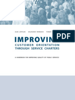 Improving Quallity in Public Services
