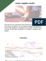 Customer Supplier - Model