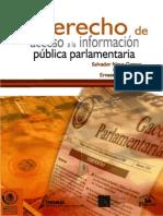 Derecho información pública parlamentaria
