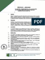 25 ProyDirect Regula El Control Gubernamental de Obras Publicas