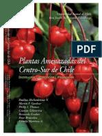 Plantas Amenazadas del centro sur de chile