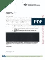 Australian Public Service Commission 'blue book', 2013