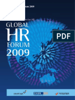 ProgramBook-Global HR Forum 2009