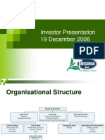 Investor Presentation Year End 06 f