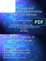 Technology and Environmental Responsibility for the 21st Century