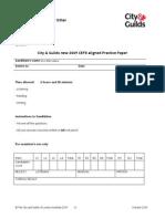IESOL B2 Practice Paper 1