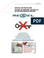 Manual Instalare Economizor Ee-res