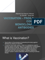 Vaccination – Pros & Cons