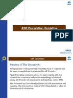 ASR Calculation