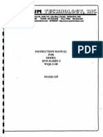 Quantum Technology Instruction Manual for Model HVP-51-DIFF-5