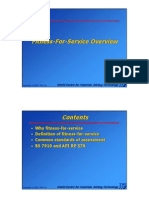 Section 2 - Fitness-For-Service Overview