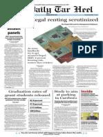The Daily Tar Heel for November 19, 2013