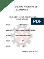 NIVELACION CON ECLIMETRO Y NIVEL DE INGENIERO.docx