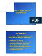 Section 6 - Stress Analysis in FFS Assessment