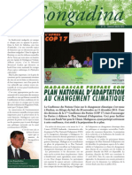 Songadina numéro 012 - Janvier-Février-Mars 2012 (Conservation International)