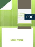 Project Management PPT2