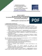 Regulament Finalizare Studii Fssu 2013