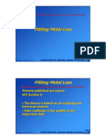 Section 10 - Assessment of Pitting Metal Loss