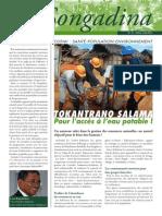 Songadina numéro 013 - Avril-Mai-Juin 2012 (Conservation International)