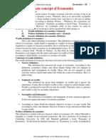 Economics Class 11 Unit 1 _ Basic-Concept-Of-Economic