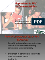 Innovative Approaches to HIV Prevention in Commercial Sex