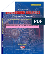 ENGINEERING GRAPHICS (ENGINEERING DRAWING) by P.H.Jain