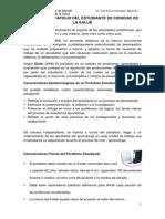 GUÍA DEL PORTAFOLIO DEL ESTUDIANTE DE CIENCIAS DE LA SALUD