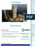 Paras Quartier Price list Call @ 09999536147 Gwal Pahari Gurgaon