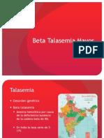 Beta Talasemia Mayor