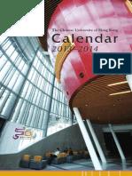 CUHK Calendar2013-14