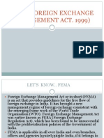 Fema(Foreign Exchange Management Act