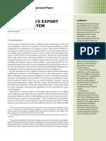 South Korea's export control system