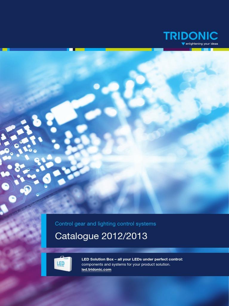 sc 1 st  Scribd & Tridonic-catalogue 2012 2013 En | Fluorescent Lamp | Lighting azcodes.com