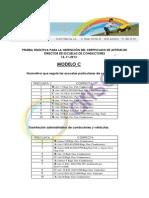 Corrector Directores de autoescuela Modelo C 2013 Arisoft