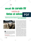 Tintas UV vs Tintas Solvente