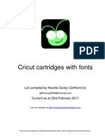 cricut cartridges with fonts feb11 a4