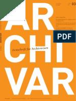ARCHIVAR 03-09 Internet