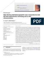 High Density Polyethylene Graphite Nano-composites for Total