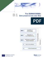 B1 Eurocodes Implementation & Use