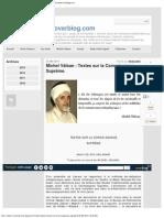 Michel Vâlsan - Textes sur la Connaissance Suprême. - esprit-universel.overblog.com